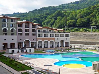 Отель Sochi Marriott Krasnaya Polyana Hotel